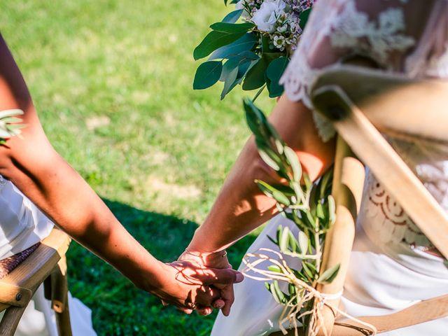 Le mariage de Laëtitia et Mélissa à Génolhac, Gard 26