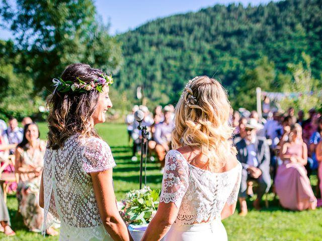 Le mariage de Laëtitia et Mélissa à Génolhac, Gard 29