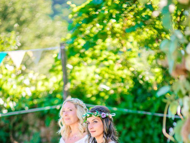 Le mariage de Laëtitia et Mélissa à Génolhac, Gard 30