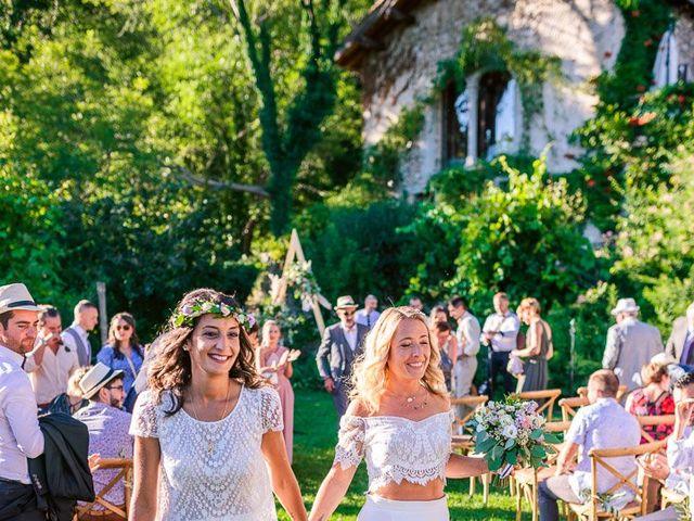 Le mariage de Laëtitia et Mélissa à Génolhac, Gard 34