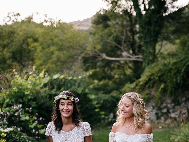 Le mariage de Laëtitia et Mélissa à Génolhac, Gard 48