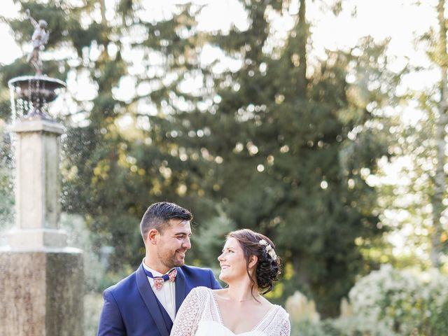 Le mariage de Benjamin et Fanny à Saint-Geneys-près-Saint-Paulien, Haute-Loire 13
