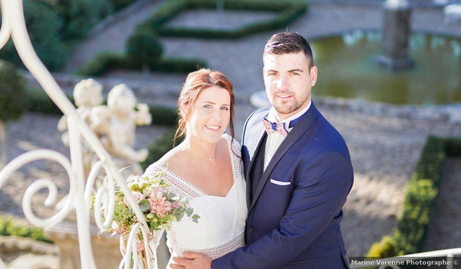 Le mariage de Benjamin et Fanny à Saint-Geneys-près-Saint-Paulien, Haute-Loire