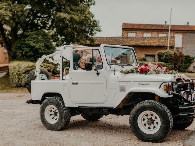 Le mariage de Paul et Rebecca à Montjoire, Haute-Garonne 9