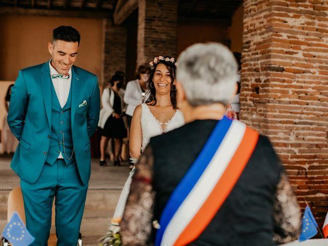Le mariage de Paul et Rebecca à Montjoire, Haute-Garonne 12
