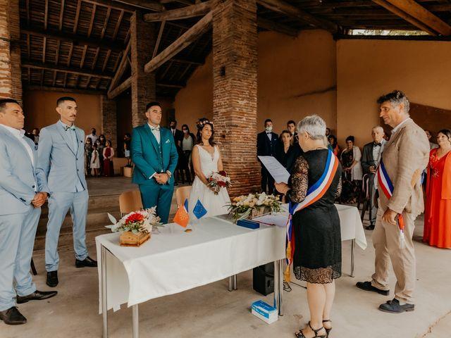 Le mariage de Paul et Rebecca à Montjoire, Haute-Garonne 13