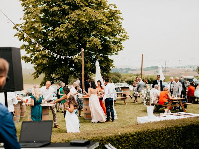 Le mariage de Paul et Rebecca à Montjoire, Haute-Garonne 34