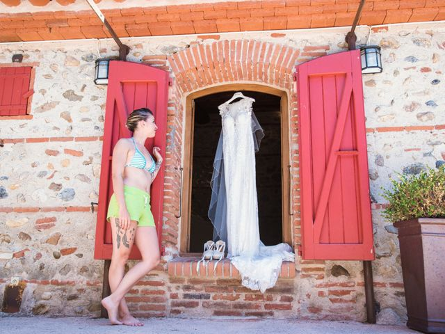 Le mariage de Cedric et Solene à Le Soler, Pyrénées-Orientales 10