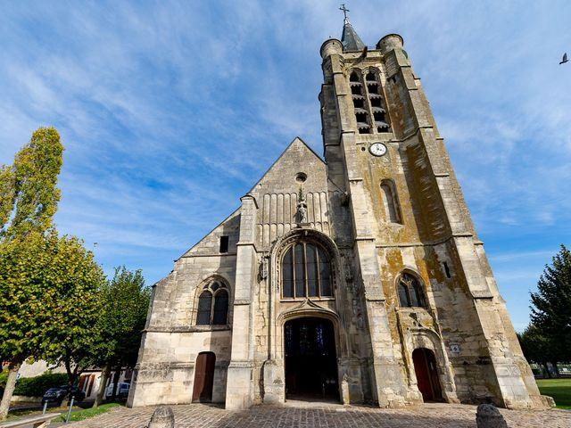 Le mariage de Victor et Aude à Survilliers, Val-d'Oise 3