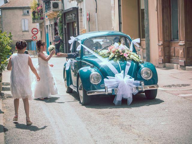 Le mariage de Paolo et Marie à Villeneuve-de-Berg, Ardèche 10