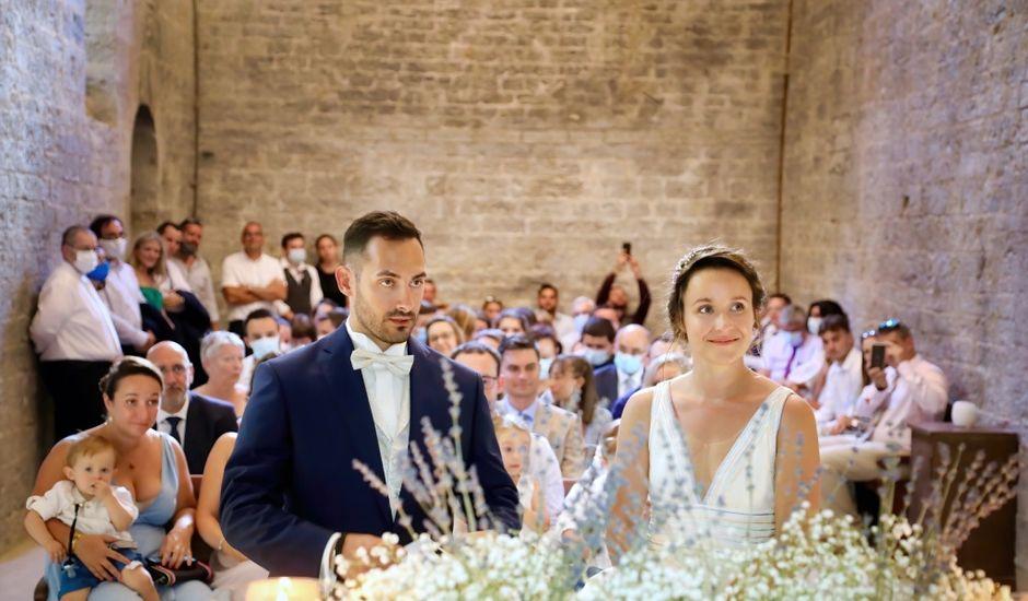 Le mariage de Sébastien et Marie-Anne à Pierrefeu-du-Var, Var