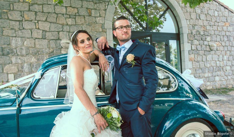 Le mariage de Paolo et Marie à Villeneuve-de-Berg, Ardèche