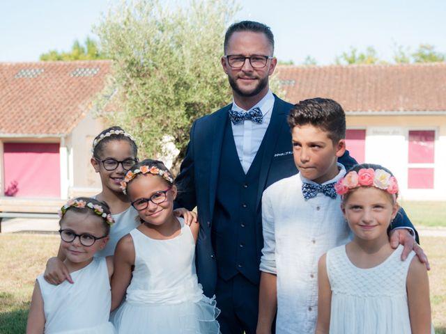 Le mariage de Stéphanie et Fabien à Yvrac, Gironde 7
