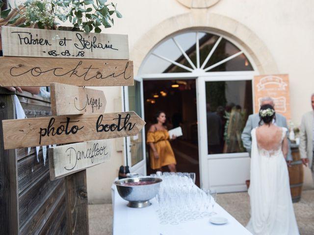 Le mariage de Stéphanie et Fabien à Yvrac, Gironde 16