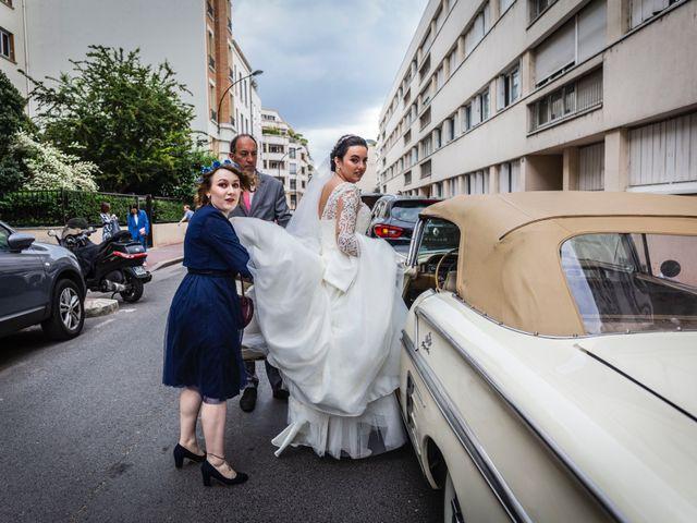 Le mariage de Axel et Anaïs à Paris, Paris 48