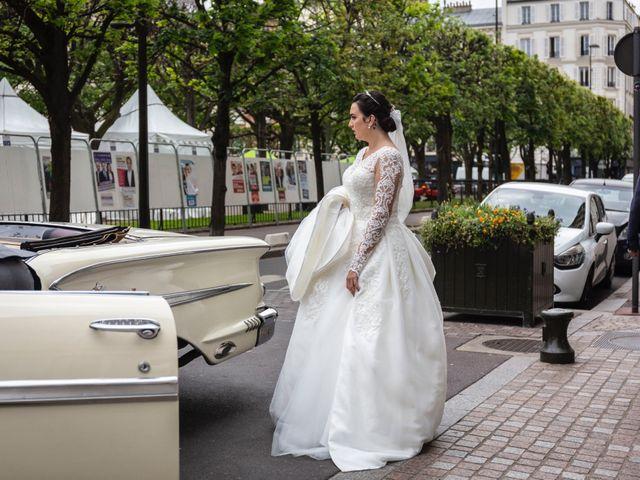 Le mariage de Axel et Anaïs à Paris, Paris 54