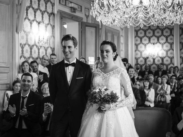 Le mariage de Axel et Anaïs à Paris, Paris 77