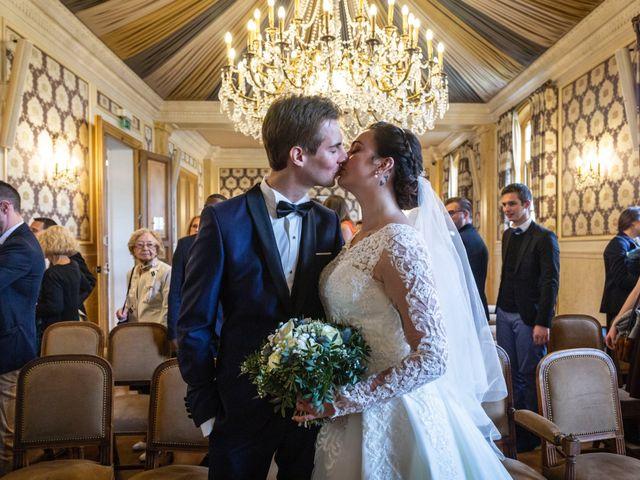 Le mariage de Axel et Anaïs à Paris, Paris 93