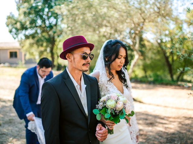 Le mariage de Tristan et Manisone à Saint-Hilaire-de-Brethmas, Gard 22