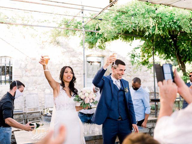 Le mariage de Tristan et Manisone à Saint-Hilaire-de-Brethmas, Gard 34