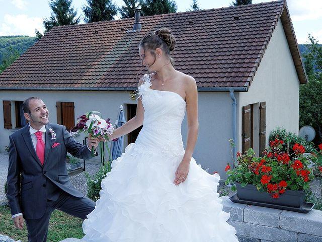 Le mariage de Toni et Audrey à Cléron, Doubs 9