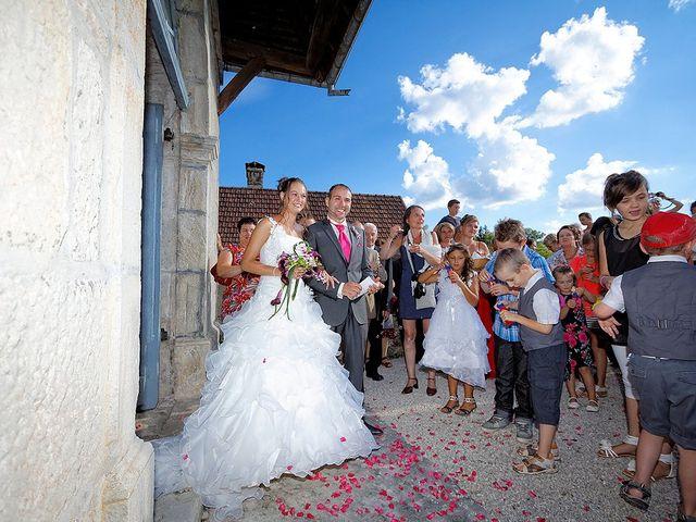 Le mariage de Toni et Audrey à Cléron, Doubs 17