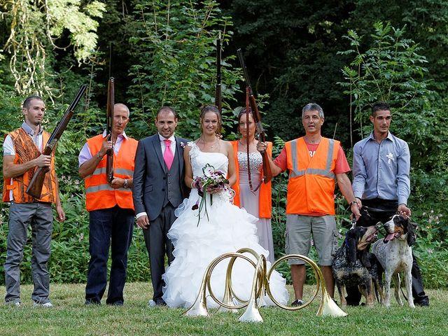 Le mariage de Toni et Audrey à Cléron, Doubs 21