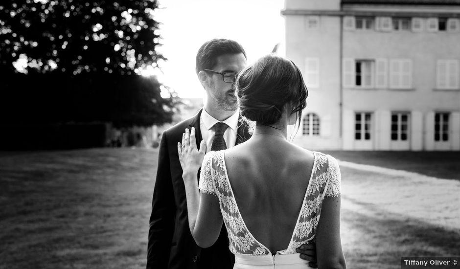 Le mariage de Benjamin et Alice à Charbonnières, Saône et Loire