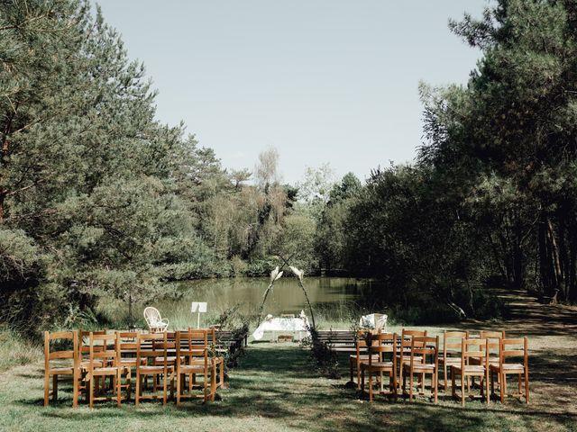 Le mariage de Louis et Pauline à Milhac-de-Nontron, Dordogne 8