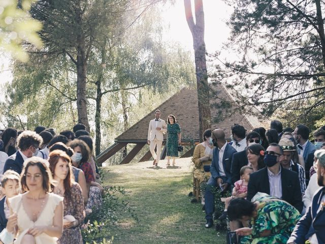 Le mariage de Louis et Pauline à Milhac-de-Nontron, Dordogne 19