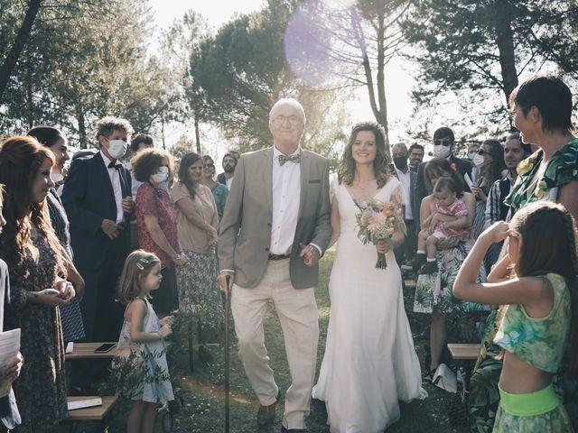Le mariage de Louis et Pauline à Milhac-de-Nontron, Dordogne 22