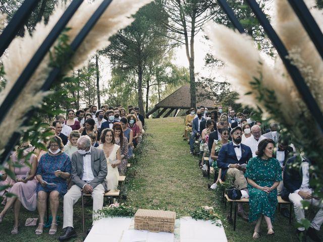 Le mariage de Louis et Pauline à Milhac-de-Nontron, Dordogne 25