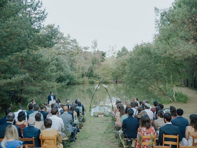 Le mariage de Louis et Pauline à Milhac-de-Nontron, Dordogne 26