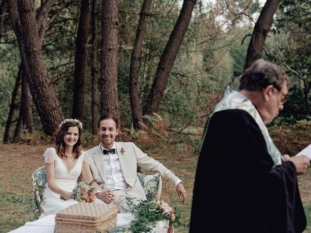 Le mariage de Louis et Pauline à Milhac-de-Nontron, Dordogne 27