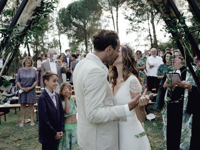 Le mariage de Louis et Pauline à Milhac-de-Nontron, Dordogne 32