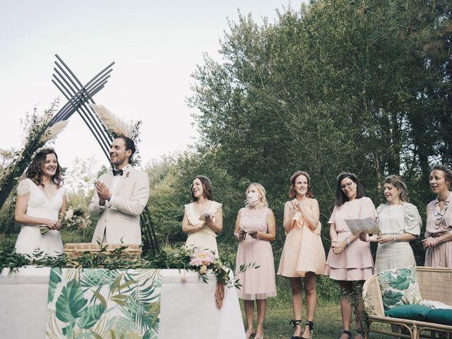 Le mariage de Louis et Pauline à Milhac-de-Nontron, Dordogne 33