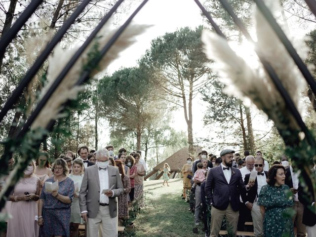 Le mariage de Louis et Pauline à Milhac-de-Nontron, Dordogne 34