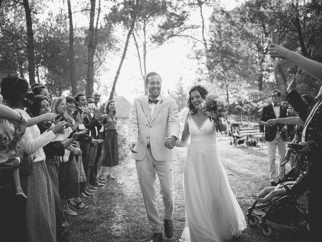 Le mariage de Louis et Pauline à Milhac-de-Nontron, Dordogne 36
