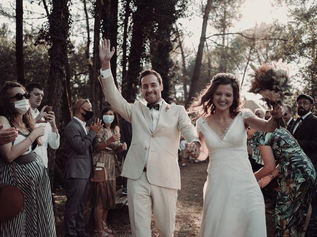 Le mariage de Louis et Pauline à Milhac-de-Nontron, Dordogne 37