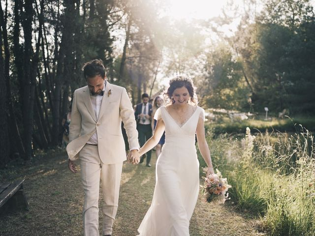 Le mariage de Louis et Pauline à Milhac-de-Nontron, Dordogne 38