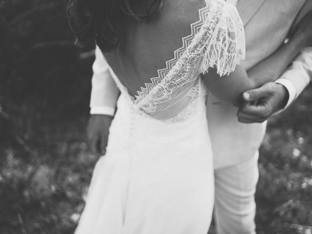Le mariage de Louis et Pauline à Milhac-de-Nontron, Dordogne 50