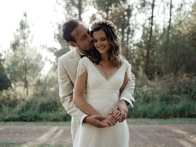 Le mariage de Louis et Pauline à Milhac-de-Nontron, Dordogne 51