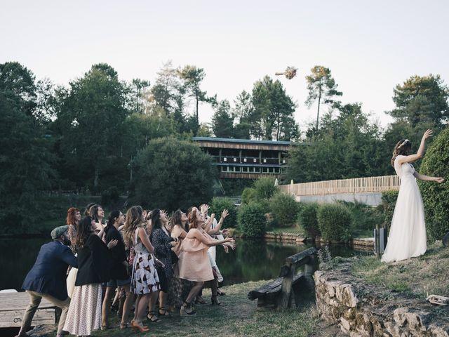 Le mariage de Louis et Pauline à Milhac-de-Nontron, Dordogne 64