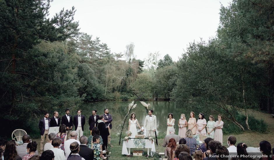 Le mariage de Louis et Pauline à Milhac-de-Nontron, Dordogne