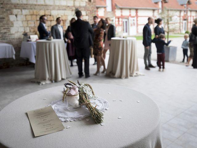 Le mariage de John et Caroline à Épagne-Épagnette, Somme 4
