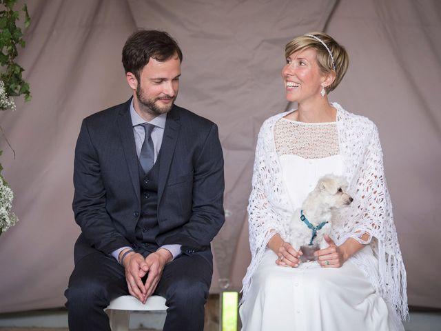 Le mariage de John et Caroline à Épagne-Épagnette, Somme 12
