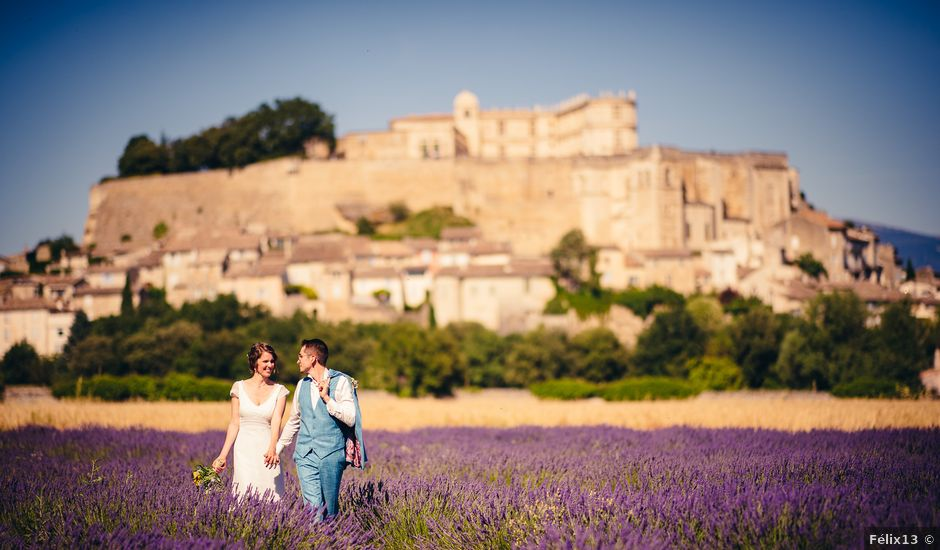 Le mariage de Florian et Caroline à Grignan, Drôme