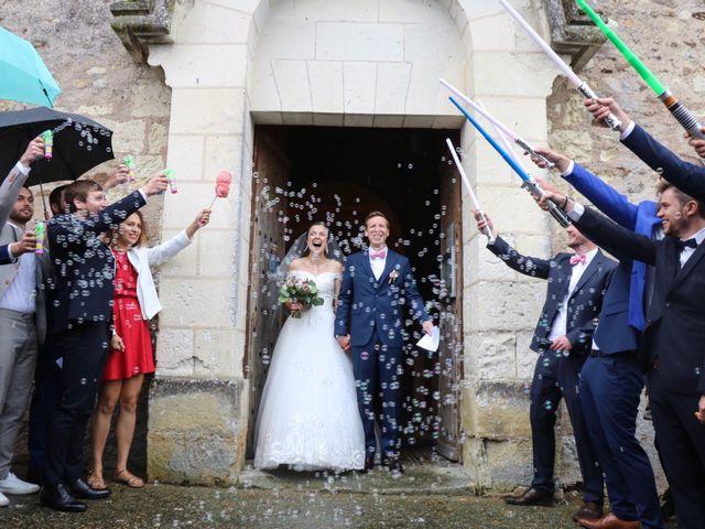 Le mariage de John et Laurine à Bossée, Indre-et-Loire 17