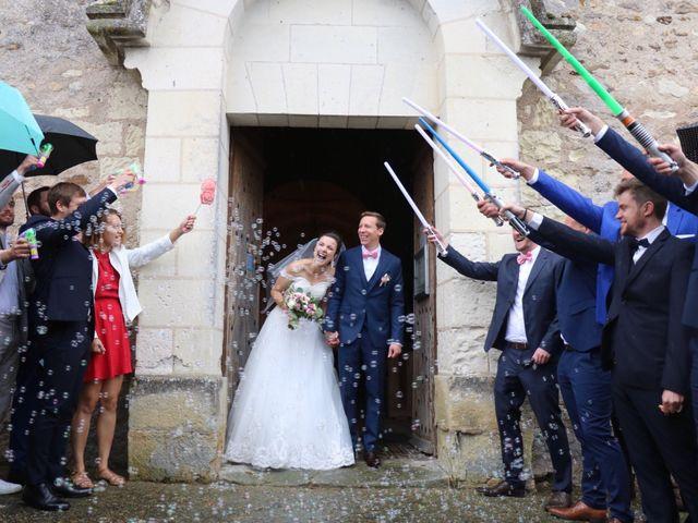 Le mariage de John et Laurine à Bossée, Indre-et-Loire 19