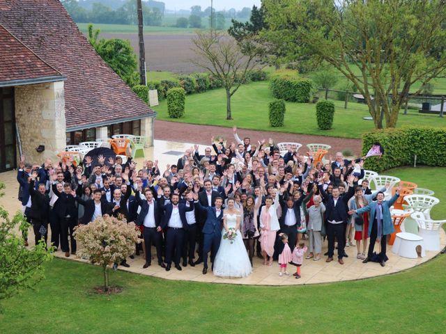 Le mariage de John et Laurine à Bossée, Indre-et-Loire 30
